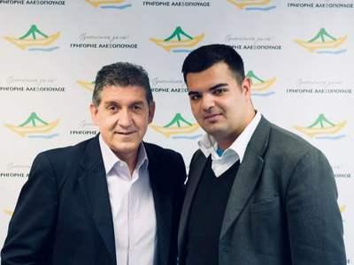 Ο Δημήτρης Αθανασόπουλος υποψήφιος με τον Γρηγόρη Αλεξόπουλο