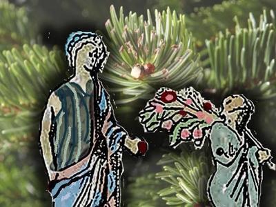 Πάτρα: Στόλιζαν δέντρο οι Αρχαίοι Έλληνε...