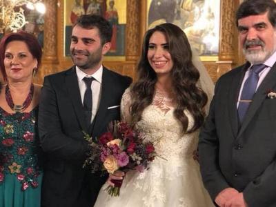 Παντρεύτηκε ο γιος του Σταύρου Σολωμού - ΦΩΤΟ