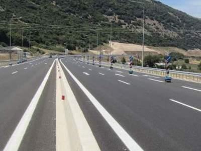 Διακοπή κυκλοφορίας στο τμήμα της Ιόνιας...