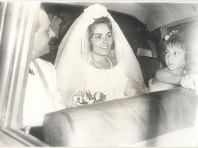 Ο γάμος του Ασημάκη και της Αλίκης, ήταν λαμπερός. Κουμπάρος ο Γεώργιος Παπανδρέου.  Παράνυφος , η σύζυγος του πρώην Πρωθυπουργού Γιώργου Παπανδρέου, Άντα