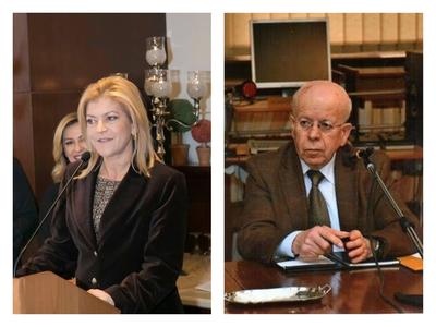 Στην Ανώτατη Συνομοσπονδία Πολυτέκνων Ελλάδας Μανωλοπούλου και Μαργαρίτης