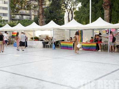 Σήμερα η πολύχρωμη πορεία του Pride στην Πάτρα - Ξεκίνησε χθες στην πλατεία Όλγας