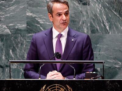 Μητσοτάκης σε ΟΗΕ: Ζούμε συνεχώς με το c...