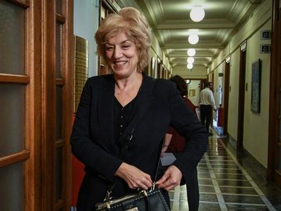Η Αν. Υπουργός Εξωτερικών Σία Αναγνωστοπούλου στην εκδήλωση για την αντιμετώπιση του δημογραφικού ζητήματος