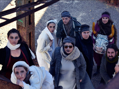 """Δωρεάν live streaming της θεατρικής παράστασης """"Κοσμογονία"""" το Σάββατο το βράδυ"""
