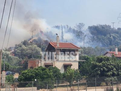 Φωτιά Ζήρια: Καταδιώκεται ασημί αυτοκίνη...