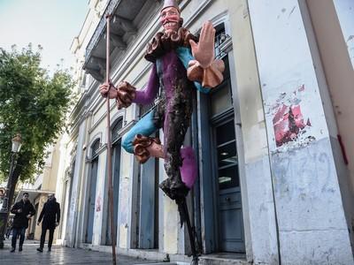 Ο Νίκος Νικολόπουλος για τους βανδαλισμούς στους αποκριάτικους μπάστακες
