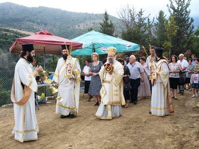 Τον δεύτερο Ναό του Αγίου Παϊσίου εγκαινίασε ο Μητροπολίτης Πατρών