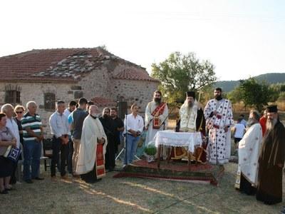 Μητροπολίτης Χρυσόστομος: Του χρόνου η παράκληση εντός του ανακαινισμένου ναού της Παναγίας Μέντζενας