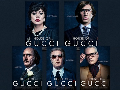 House of Gucci: Βγήκαν οι αφίσες, αγνώρι...