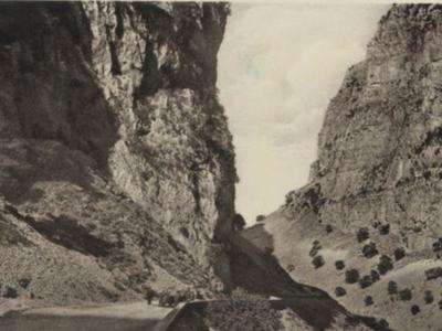 Δυτική Ελλάδα: Το...στενό ...πέρασμα τη δεκαετία του '20! Μια σπάνια φωτογραφία