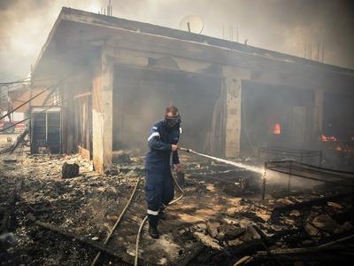 Τι συνέβη στη μεγάλη πυρκαγιά της Κινέτα...