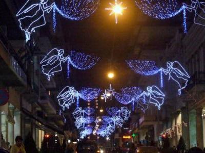 Ανάβει αύριο ο Χριστουγεννιάτικος διάκοσμος στην Πάτρα