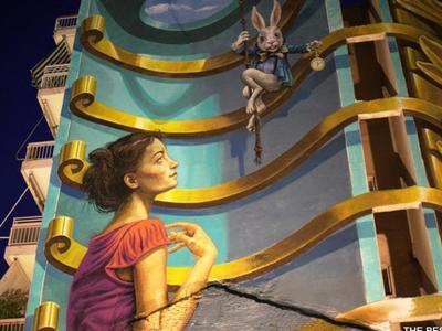 Το γκράφιτι του WD στη Γούναρη, άλλαξε την αισθητική όλης της περιοχής! ΔΕΙΤΕ ΦΩΤΟ
