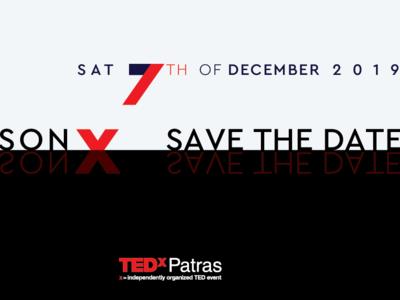 Στις 7 Δεκεμβρίου το TEDxPatras