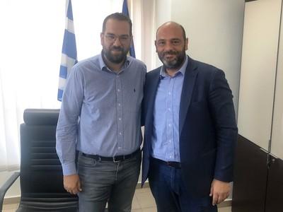 Επίσκεψη του Ιάσονα Φωτήλα στην Περιφέρεια Δυτικής Ελλάδας