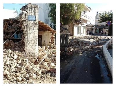 Σεισμός στην Κρήτη:  Νεκρός στο Αρκαλοχώρι