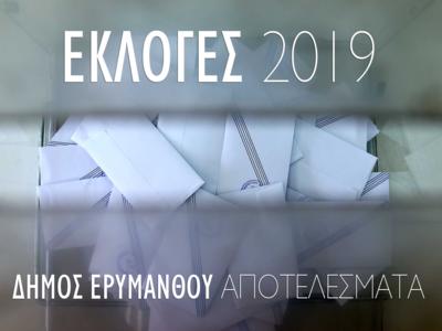 Δείτε live τα αποτελέσματα στο Δήμο Ερυμάνθου