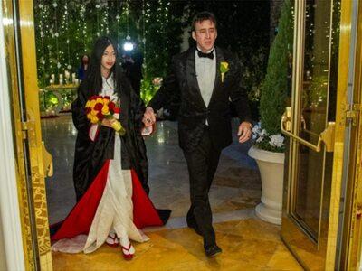 Νίκολας Κέιτζ: Ντύθηκε... 5η φορά γαμπρός