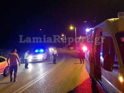 Φθιώτιδα: Σοβαρό τροχαίο στην Εθνική οδό