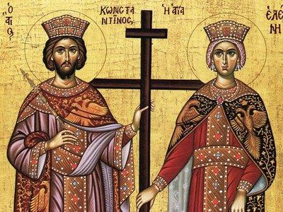 Πανηγυρίζουν οι ιεροί ναοί Αγ. Κωνσταντίνου & Ελένης σε Αγυιά και Αρόη