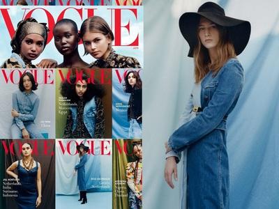 Vogue USA: Στην ελίτ των μοντέλων, δίπλα στην Κάια Γκέρμπερ, η μεσολογγίτισα Ροζάνα Γεωργίου!
