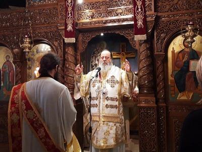 Η γιορτή της Παναγίας «Άξιον Εστί» στη Μ...