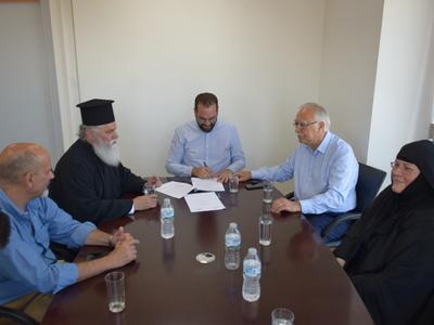 Βελτιώνεται η πρόσβαση στην Ιερά Μονή Μακελλαριάς