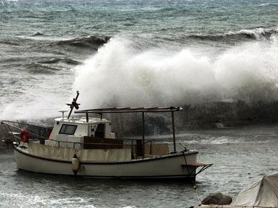 «Ωκεανίς»: Ρεκόρ στις ριπές του ανέμου σ...