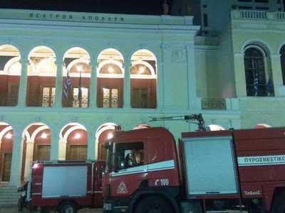 Πήγαν για φωτιά στο Δημοτικό Θέατρο, αλλά δεν βρήκαν τίποτα – ΔΕΙΤΕ ΦΩΤΟ