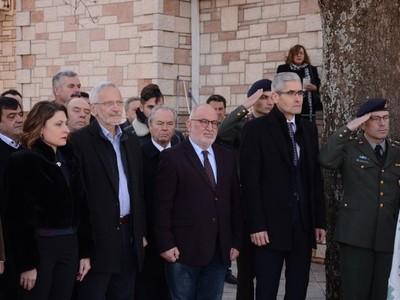 Ο Αντιπεριφερειάρχης Π. Σακελλαρόπουλος παρέστη στην εκδήλωση μνήμης στα Σελλά