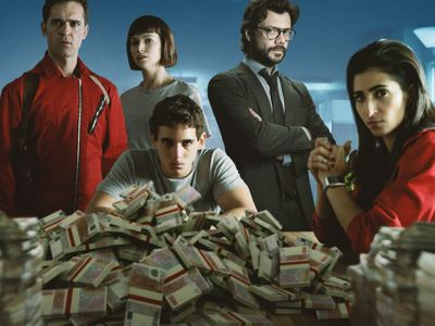 "To ""La Casa de papel"" ήρθε και το διαδίκτυο... κινδυνεύει"