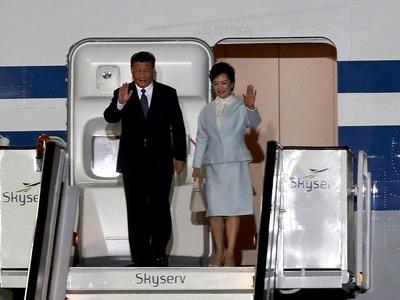 Στην Αθήνα ο Πρόεδρος της Κίνας Σι Τζινπίνγκ