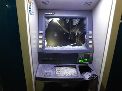Ανατίναξαν ΑΤΜ στο Περιστέρι αλλά δεν μπόρεσαν να πάρουν χρήματα!
