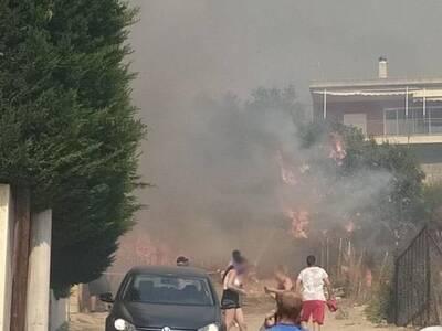 Πάτρα: Βλέποντας το σπίτι σου να καίγετα...