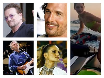 Οι διάσημοι που προτίμησαν Ελλάδα για το καλοκαίρι τους