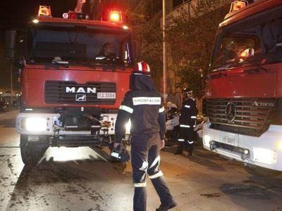 Πάτρα: Στο νοσοκομείο με εγκαύματα κι αναπνευστικά προβλήματα από φωτιά στο σπίτι του