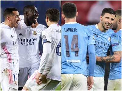 Champions League: Ρεάλ και Σίτι «αγκάλια...