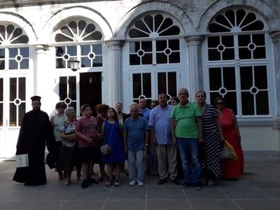 Προσκυνηματική εκδρομή τής ενορίας του Ιερού Μητροπολιτικού Ναού Φανερωμένης Αιγίου στην Κωνσταντινούπολη