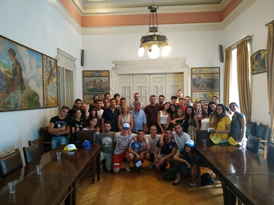 Στην Πάτρα 39 νέοι από Ρουμανία, Σερβία, Τουρκία, Ιταλία & Ισπανία