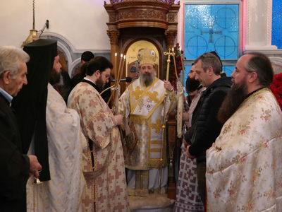 """Ιερά πανήγυρη για τον Όσιο Άνθιμο στο ναό """"Παναγία η Βοήθεια"""""""