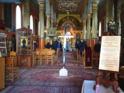 Εκκλησία στην Πάτρα λειτούργησε ανήμερα ...