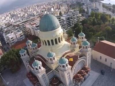 Άγιος Ανδρέας : Η εκκλησία που φτιάχτηκε...
