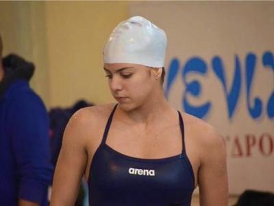 Όγδοη θέση για τη Νάνσυ Διαμαντή στο Εθνικό πρωτάθλημα κολύμβησης