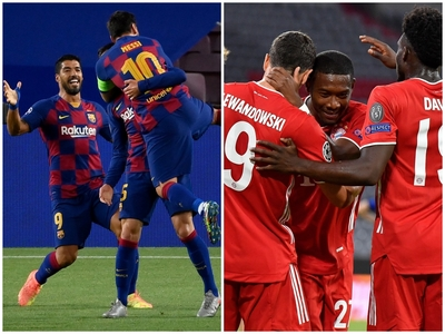Champions League: Μπαρτσελόνα και Μπάγερ...