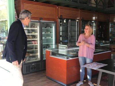 Επίσκεψη του Άγγελου Τσιγκρή στη Δυτική Αχαΐα και την Κάτω Αχαγιά