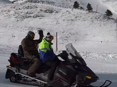 Εντυπωσιακές φιγούρες από snowboarders στα Καλάβρυτα!