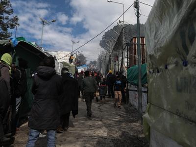Άγριο φονικό στη Μόρια- Νεκρή μια 23χρονη