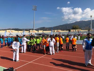 Φεστιβάλ Αθλητικών Ακαδημιών ΟΠΑΠ στο Παμπελοποννησιακό Στάδιο σήμερα και αύριο - ΦΩΤΟ